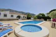 Ferienhaus Denia Privatpool Kinderbecken